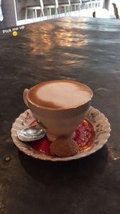 Cappuccino pick me up.